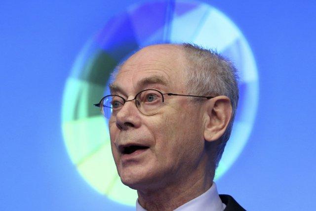Herman Van Rompuy, président du Conseil européen... (Photo Francois Lenoir, Reuters)