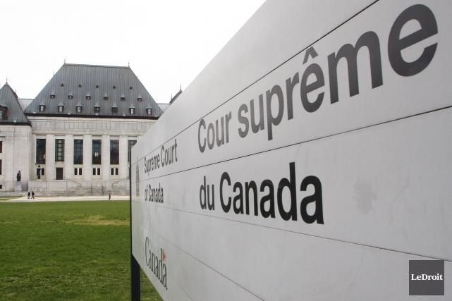 La Cour suprême du Canada se penchera sur le cas de deux Québécois accusés de... (Photo Etienne Ranger, LeDroit)