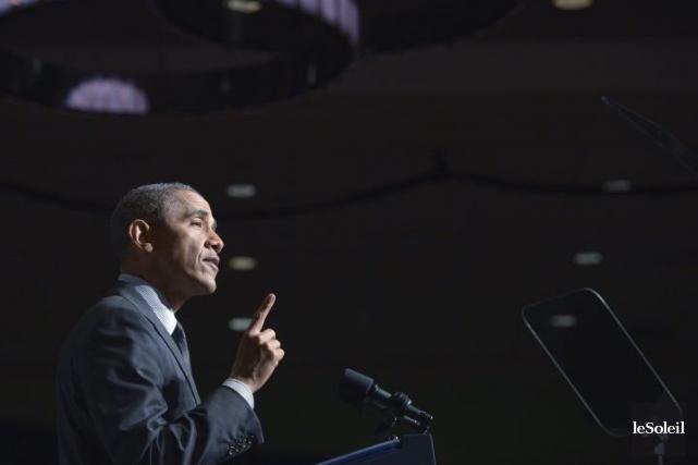 Le président Barack Obama avait prévenu jeudi qu'une... (Photothèque Le Soleil)