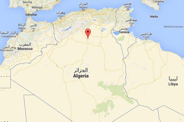 Un jeune homme a été tué vendredi à Berriane, dans la vallée du M'zab, dans de... (Capture d'écran d'une carte Google)