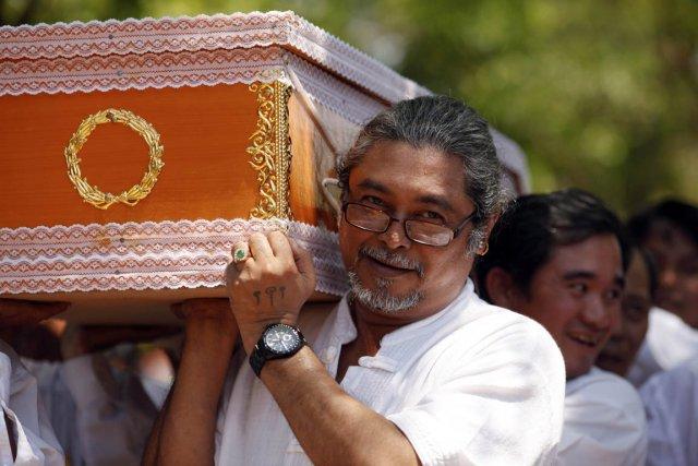L'acteur Kyaw Thu a laissé le cinéma pour... (Photo Soe Zeya Run, archives Reuters)