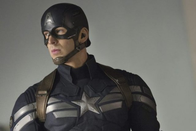Chris Evans, alias Captain America.... (Photo fournie par Marvel)