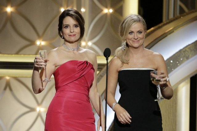 Tina Fey et Amy Poehler... (Photo Paul Drinkwater, Archives AP)