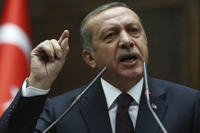 Premier ministre turc depuis onze ans,Recep Tayyip Erdogan... (PHOTO ADEM ALTAN, ARCHIVES AFP)