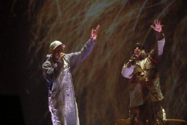 Le duo rap formé par André 3000 et... (PHOTO MARIO ANZUONI, REUTERS)