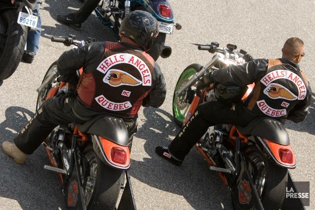 Les 51 membres des Hells Angels et leurs... (PHOTO DAVID BOILY, ARCHIVES LA PRESSE)