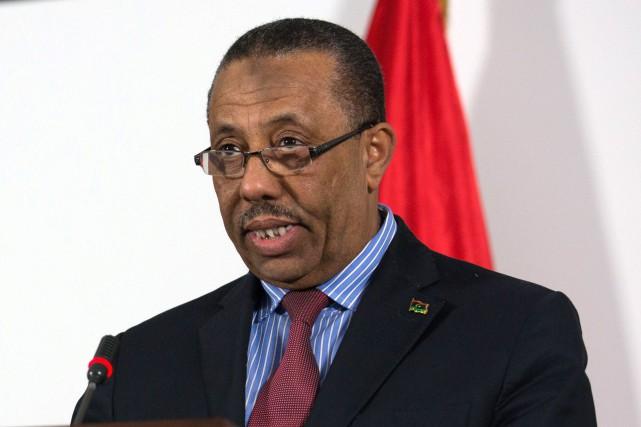 L'actuel premier ministre, Abdallah Al-Theni (ci-dessus), assure l'intérim... (Photo AFP)
