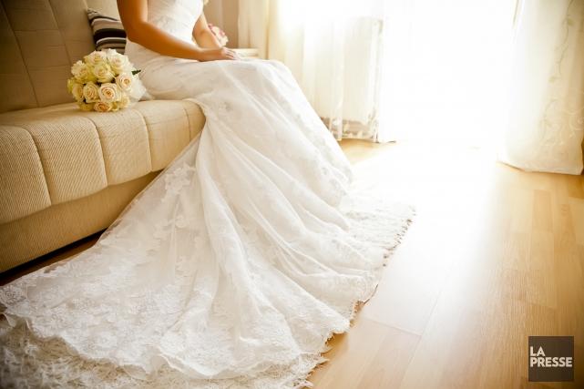 Robe de mariee usagee