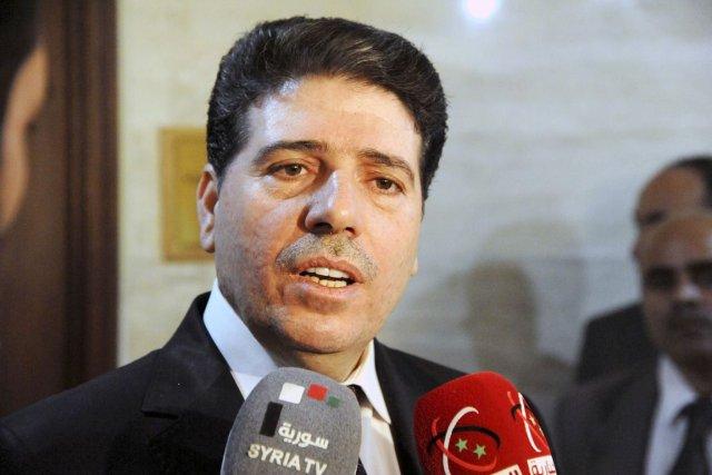 Le premier ministre syrien Waël al-Halaqi... (PHOTO REUTERS/SANA)
