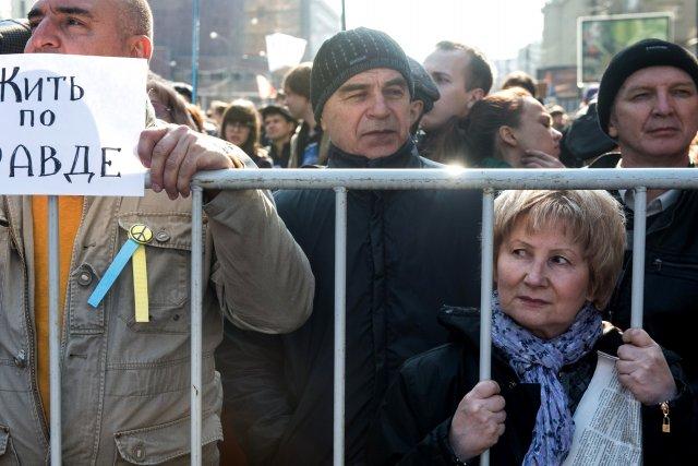 Lors de cette manifestation, baptisée «Marche de la... (Photo ANATOLY TANIN, AFP)