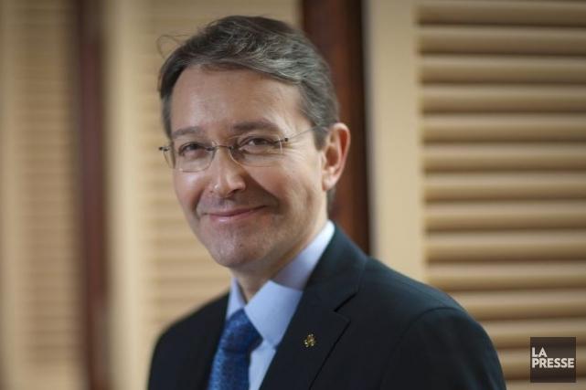 Jean-FrancoisFerret, directeur général de Relais & Châteaux, a... (Photo Andre Pichette, La Presse)