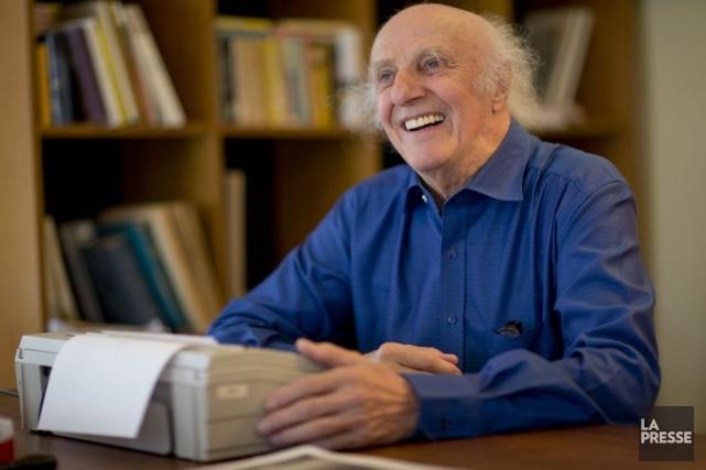 Bien qu'âgé de 85 ans, Gilles Vigneault n'a... (Photo: David Boily, La Presse)