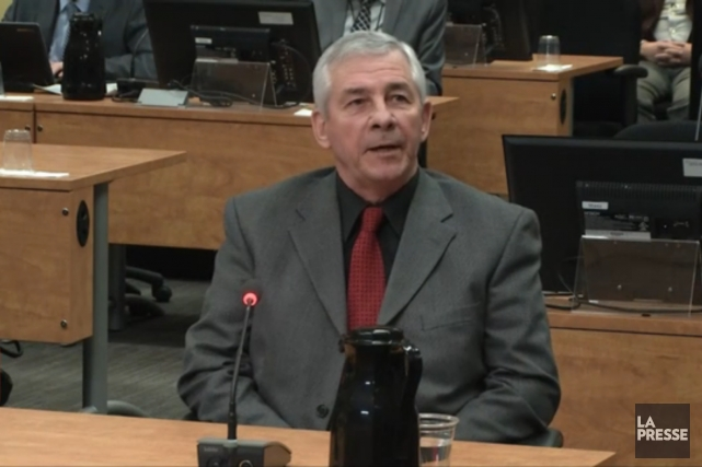 Le directeur général de Pavages Maska,Serge Daunais... (Image vidéo)