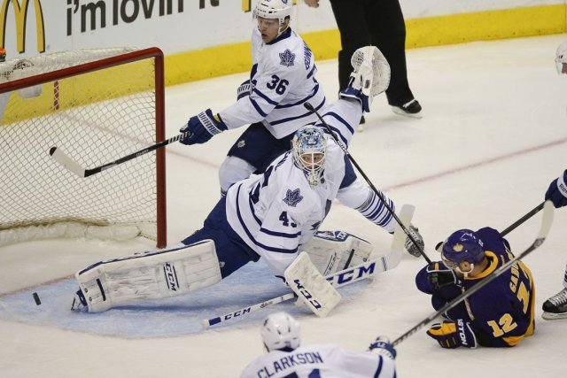 Jonathan Bernier a raté cinq matchs au mois... (Photo Richard Mackson, USA TODAY)