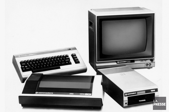 La suite Commodore 64.... (Photo archives La Presse)