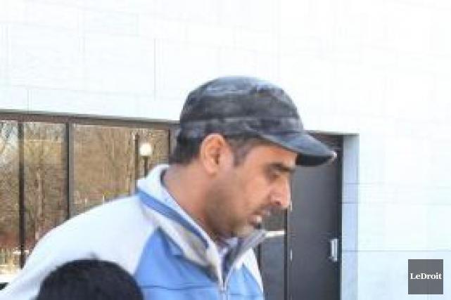 Bhupinderpal Gill, âgé de 38 ans et d'Ottawa,... (Étienne Ranger, Archives LeDroit)