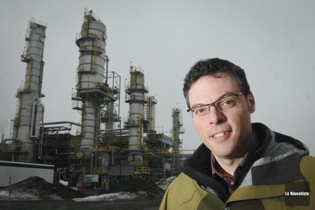 Yohan Ladouceur est ingénieur procédés et projets chez... (PHOTO FRANÇOIS GERVAIS, LE NOUVELLISTE)