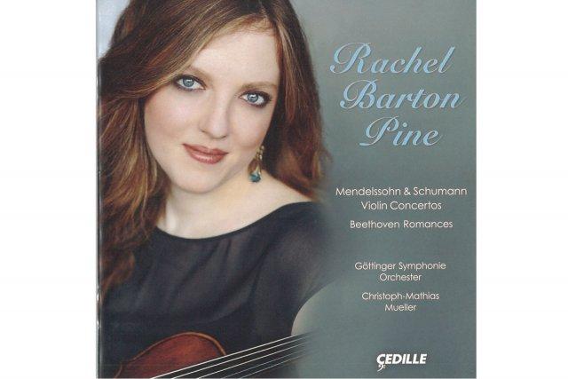 Rachel Barton Pine nous revenait cette semaine, précédée de son dernier disque:...