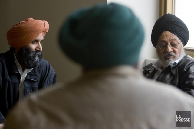 Les personnes qui s'identifient comme des sikhs pourront... (Photo archives La Presse)