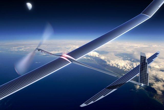 Des satellites atmosphériques pourraient aider à donner un... (PHOTO AP/TITAN AEROSPACE)