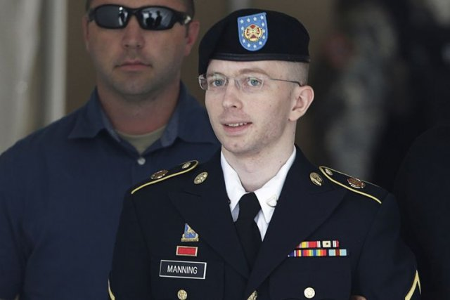 L'avocat de Bradley Manning plaidait que «les informations... (Photo: Reuters)