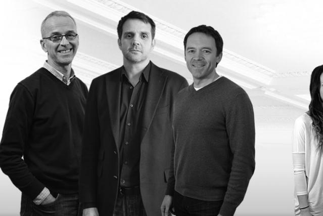 Alan MacIntosh, John Stokes et Jean-Sébastien Cournoyer, les... (Photo Real Ventures)