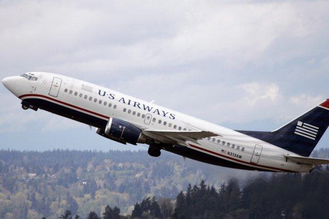 La compagnie américaine US Airways a publié lundi sur Twitter une photographie... (Photo: AP)