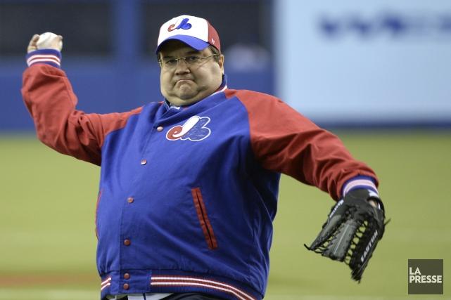 Passionné de sports, le maire de Montréal, Denis... (Photo Bernard Brault, La Presse)