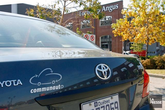 Le service d'autopartage Communauto a augmenté sa présence sur le marché... (Photo d'archives)