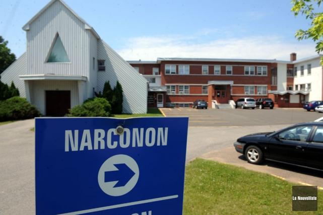 Le centre Narconon, du boulevard Parent à Trois-Rivières,... (Photo: Stéphane Lessard, Le Nouvelliste)
