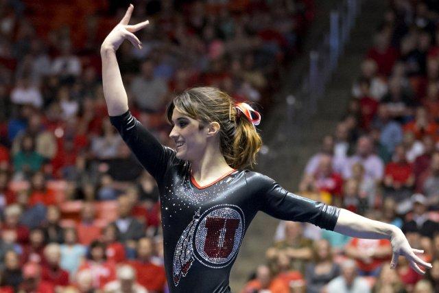 La gymnaste montréalaise Nansy Damianova aidera l'Université de... (Photo fournie par l'Université de l'Utah)
