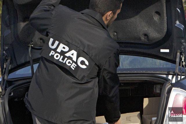 L'UPAC avait perquisitionné le siège du PLQ une... (PHOTO ARCHIVES LA PRESSE)