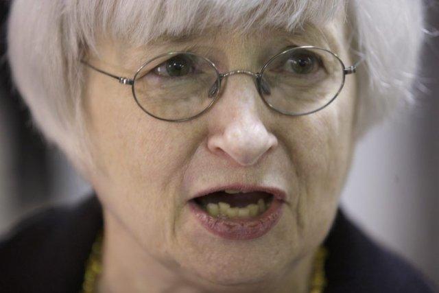 La présidente de la Réserve fédérale américaine Janet... (PHOTO JOHN GRESS, ARCHIVES REUTERS)