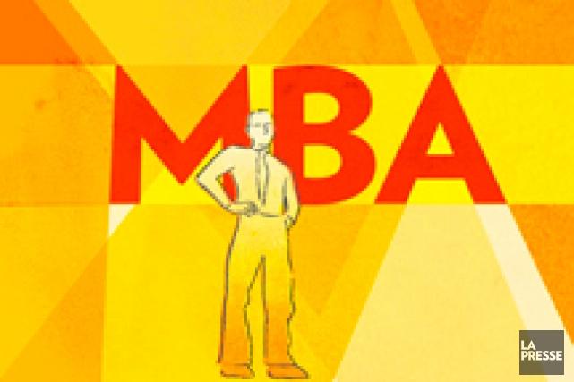 Il y a quelques décennies, apposer les trois lettres MBA (Master of... (PHOTOMONTAGE ET ILLUSTRATION LA PRESSE)