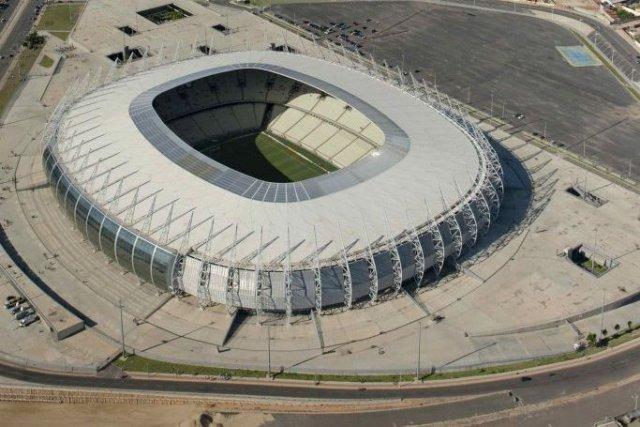 Le stade Castelao, à Fortaleza.... (Photo Davi Pinheiro, Reuters)