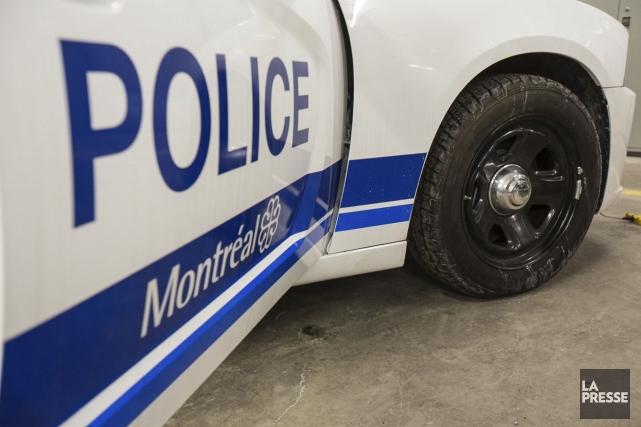 La police de Montréal a publié mardi la description du véhicule dont le... (PHOTO OLIVIER PONTBRIAND, ARCHIVES LA PRESSE)