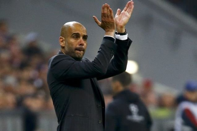 Pep Guardiola... (Photo Kai Pfaffenbach, Reuters)