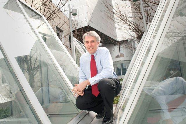 Michael Wybo, directeur du programme de MBA à... (PHOTO CATHERINE LEFEBVRE, COLLABORATION SPÉCIALE)