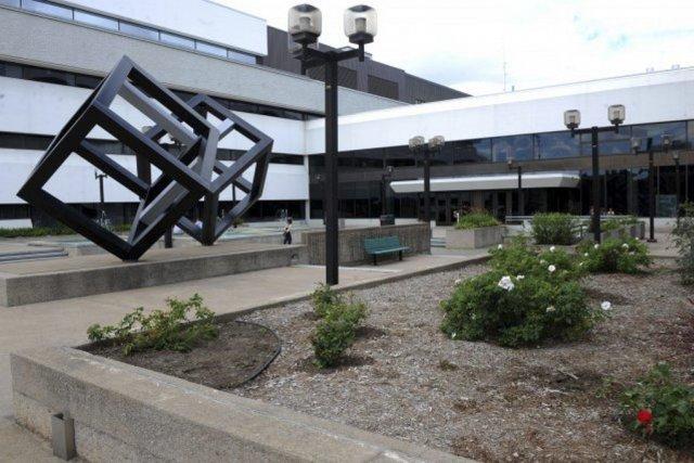 Le campus de l'Université du Québec à Trois-Rivières.... (PHOTO FOURNIE PAR STÉPHANE LESSARD, UQTR)