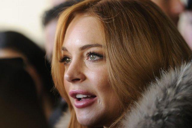 Lindsay Lohan... (Photo: AP)