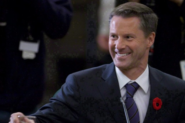 Nigel Wright est arrivé samedi à Ottawa de... (Photo Sean Kilpatrick, archives PC)