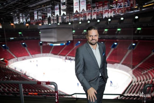 Kevin Gilmore, chef de l'exploitation du Canadien de... (PHOTO ÉDOUARD PLANTE-FRÉCHETTE LA PRESSE)