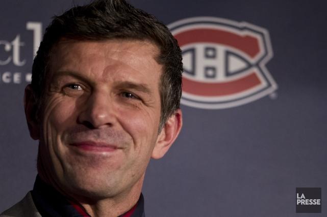 Le directeur général du Canadien, Marc Bergevin.... (Photo Olivier Jean, archives La Presse)