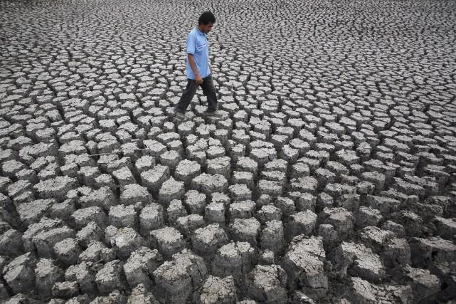 Des évènements climatiques «extrêmes» qui surviennent aujourd'hui «une... (Photo Oswaldo Rivas, Archives Reuters)