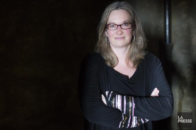 Dans son deuxième roman, Histoires d'ogres, la journaliste... (Photo: Olivier Pontbriand, La Presse)