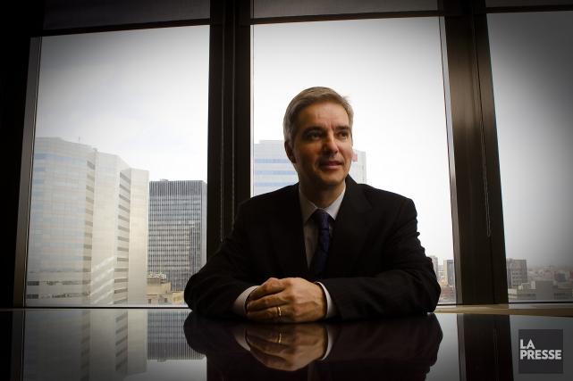 Jean St-Gelais, un fonctionnaire de carrière aux Finances... (Photo André Pichette, La Presse)