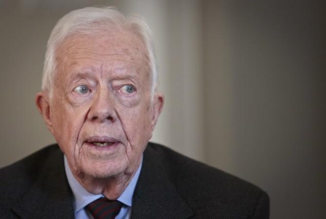 Jimmy Carter, 39e président de l'histoire des États-Unis... (Photo Bebeto Matthews, AP)