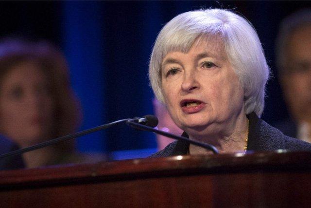 Janet Yellen s'est adressée au Economic Club de... (PHOTO BRENDAN MCDERMID, REUTERS)