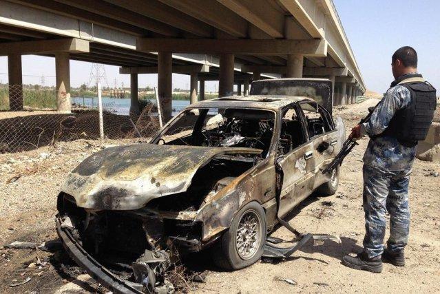 A Bagdad, une voiture piégée a fait au... (Photo: Reuters)