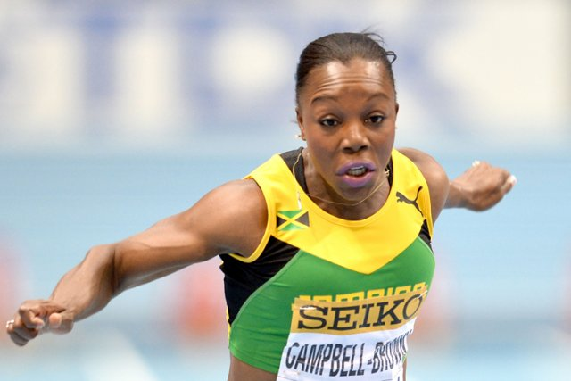Veronica Campbell-Brown... (Photo: AFP)